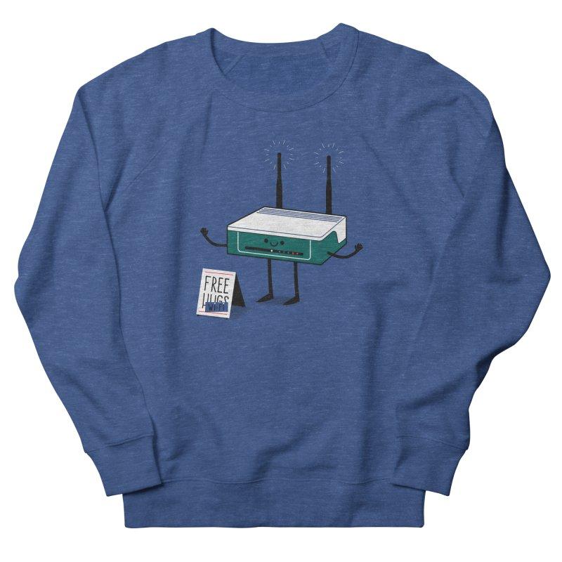 Free Wi-fi Men's Sweatshirt by marcelocamacho's Artist Shop