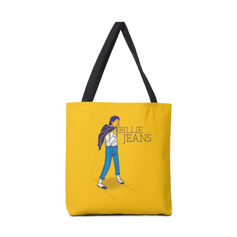 Billie's Jeans Accessories Tote Bag Bag by marcelocamacho's Artist Shop
