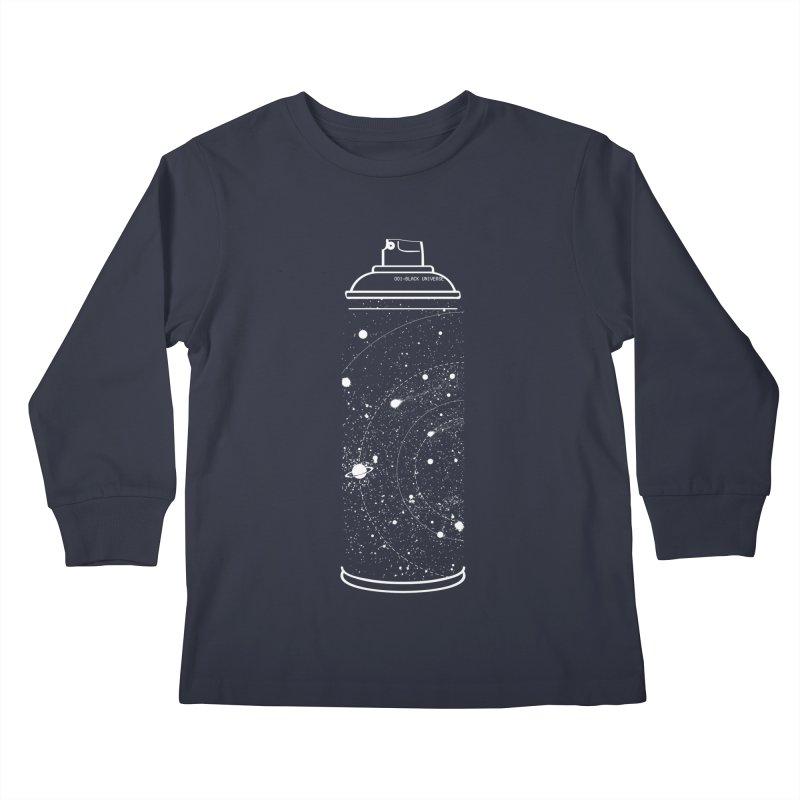 Space can Kids Longsleeve T-Shirt by marcelocamacho's Artist Shop
