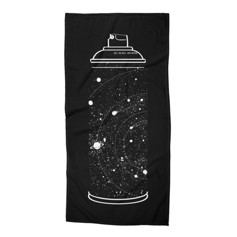 Space can Accessories Beach Towel by marcelocamacho's Artist Shop