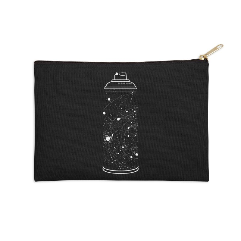 Space can Accessories Zip Pouch by marcelocamacho's Artist Shop