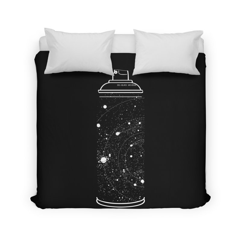 Space can Home Duvet by marcelocamacho's Artist Shop