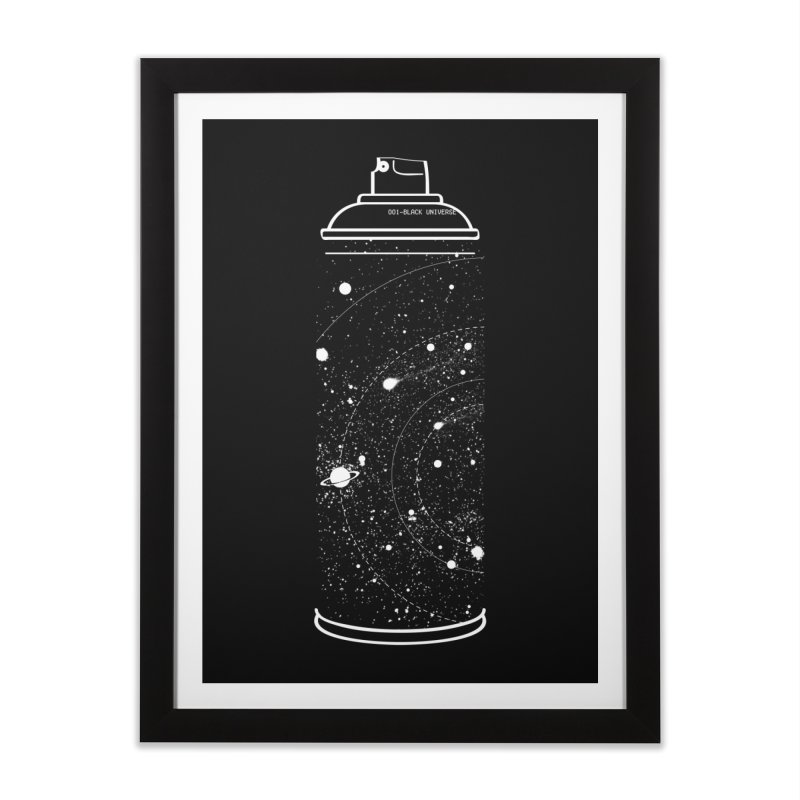 Space can Home Framed Fine Art Print by marcelocamacho's Artist Shop