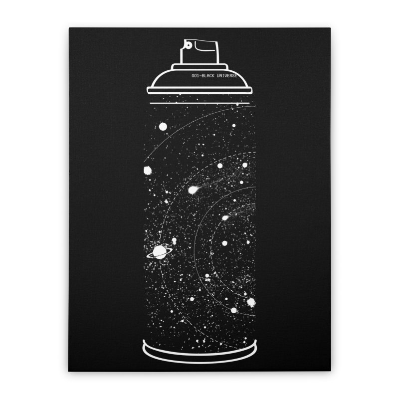 Space can Home Stretched Canvas by marcelocamacho's Artist Shop