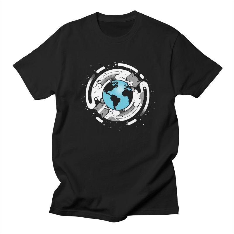Catmosphere Men's T-Shirt by marcelocamacho's Artist Shop
