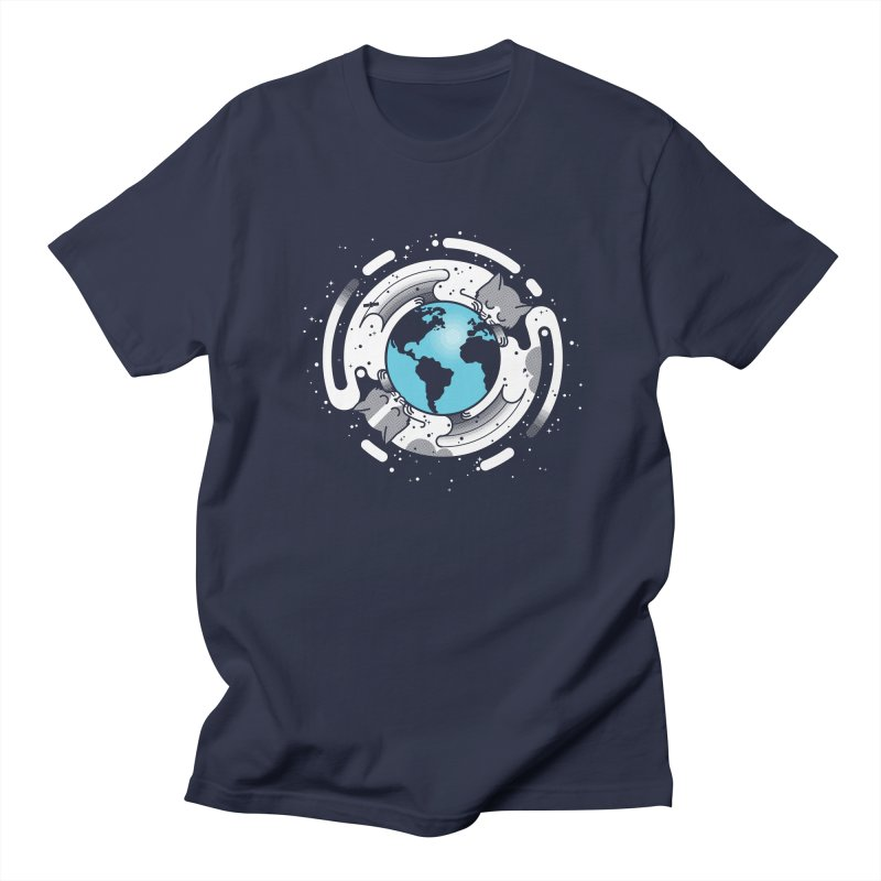 Catmosphere Men's Regular T-Shirt by marcelocamacho's Artist Shop