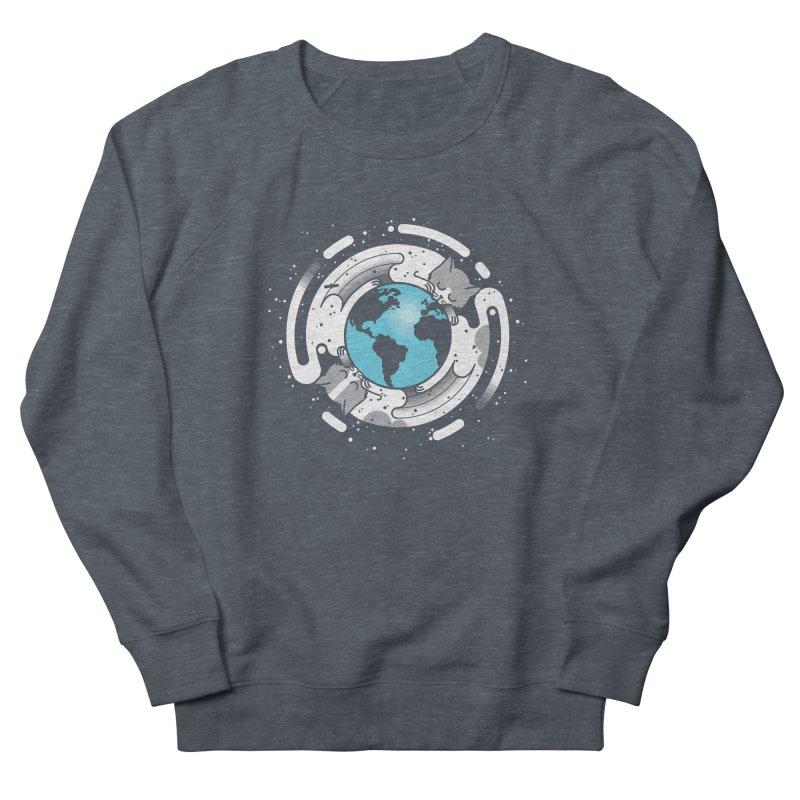Catmosphere Men's Sweatshirt by marcelocamacho's Artist Shop