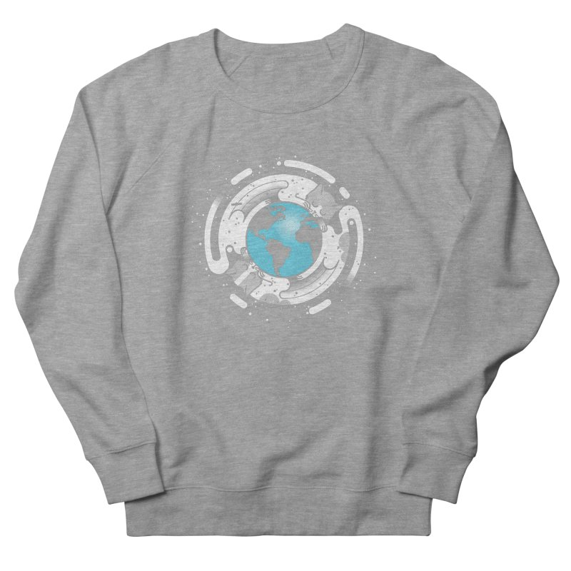 Catmosphere Men's French Terry Sweatshirt by marcelocamacho's Artist Shop