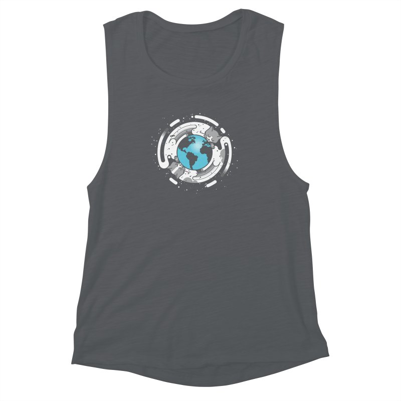 Catmosphere Women's Muscle Tank by marcelocamacho's Artist Shop