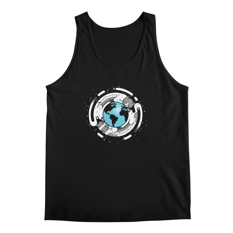 Catmosphere Men's Tank by marcelocamacho's Artist Shop