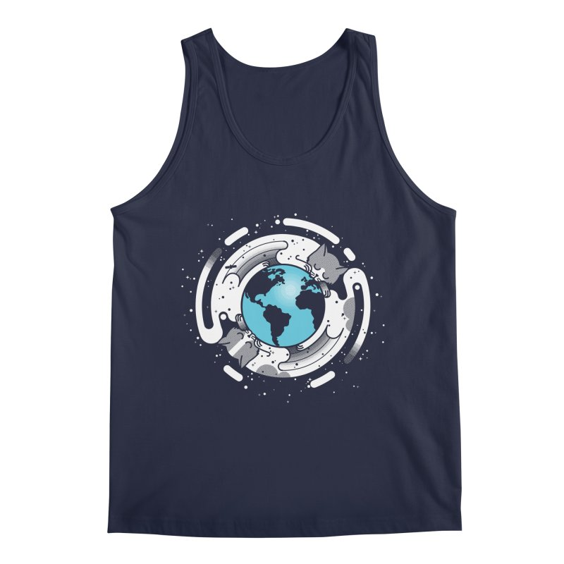 Catmosphere Men's Regular Tank by marcelocamacho's Artist Shop