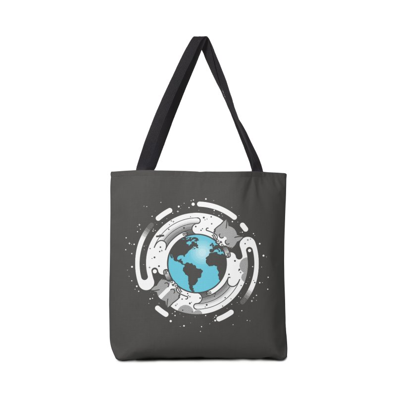 Catmosphere Accessories Tote Bag Bag by marcelocamacho's Artist Shop