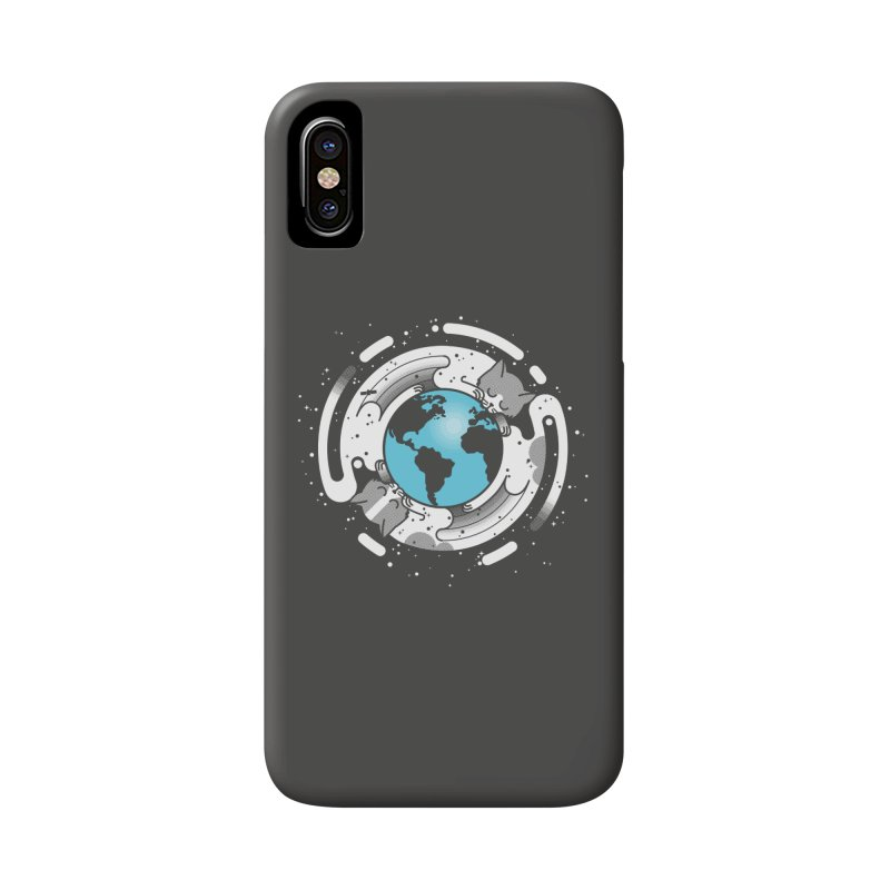 Catmosphere Accessories Phone Case by marcelocamacho's Artist Shop