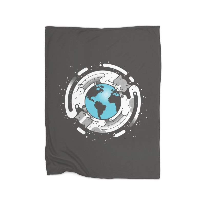 Catmosphere Home Blanket by marcelocamacho's Artist Shop