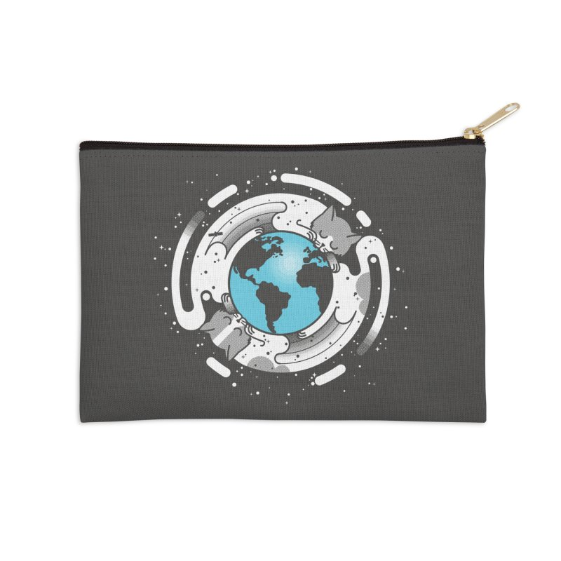 Catmosphere Accessories Zip Pouch by marcelocamacho's Artist Shop