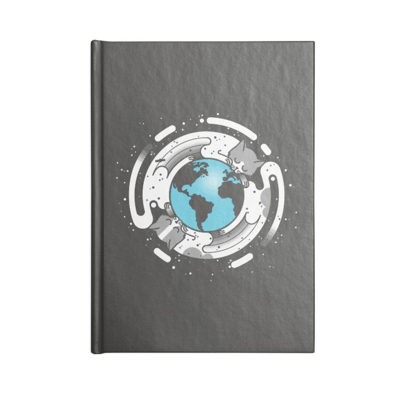 Catmosphere Accessories Lined Journal Notebook by marcelocamacho's Artist Shop
