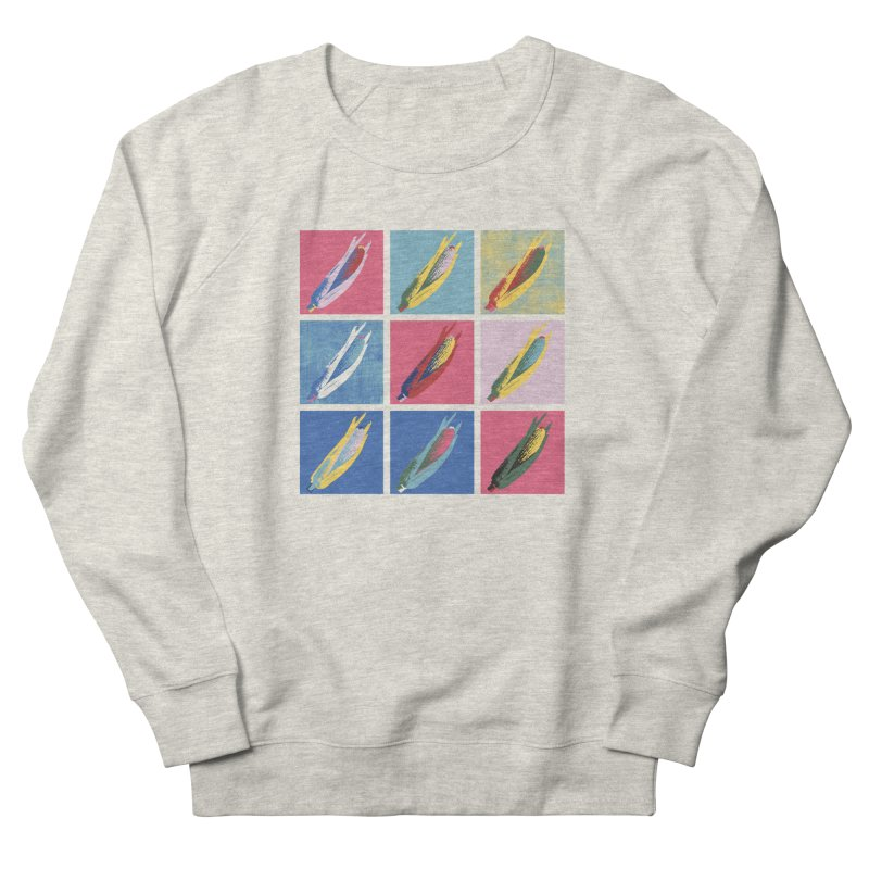 A Pop Corn Women's French Terry Sweatshirt by marcelocamacho's Artist Shop