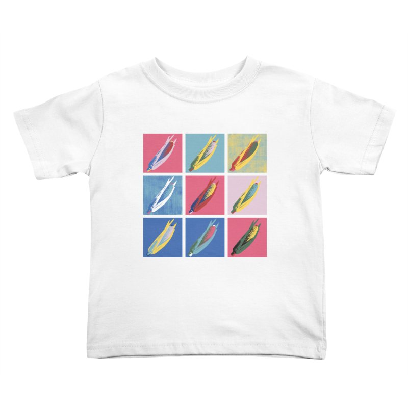A Pop Corn Kids Toddler T-Shirt by marcelocamacho's Artist Shop