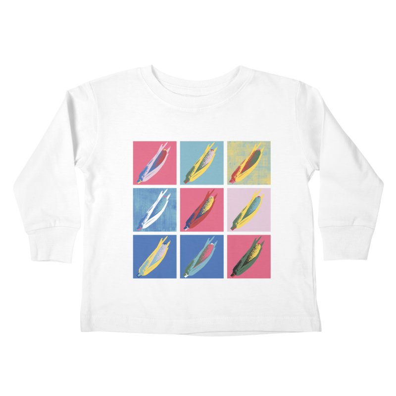 A Pop Corn Kids Toddler Longsleeve T-Shirt by marcelocamacho's Artist Shop