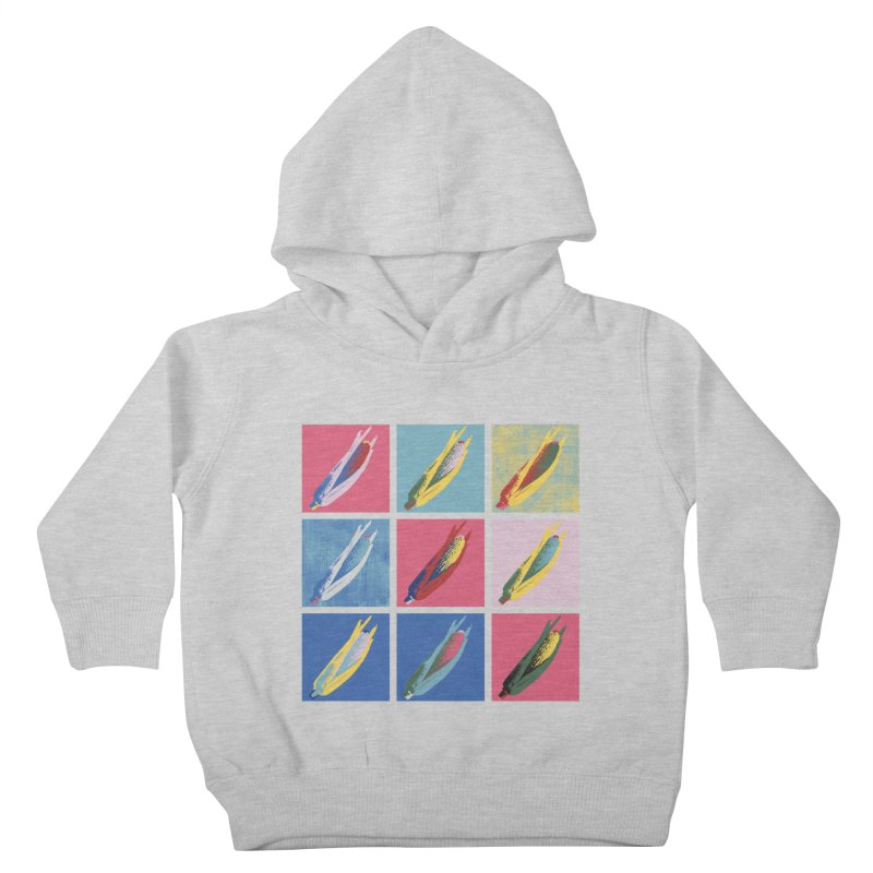 A Pop Corn Kids Toddler Pullover Hoody by marcelocamacho's Artist Shop