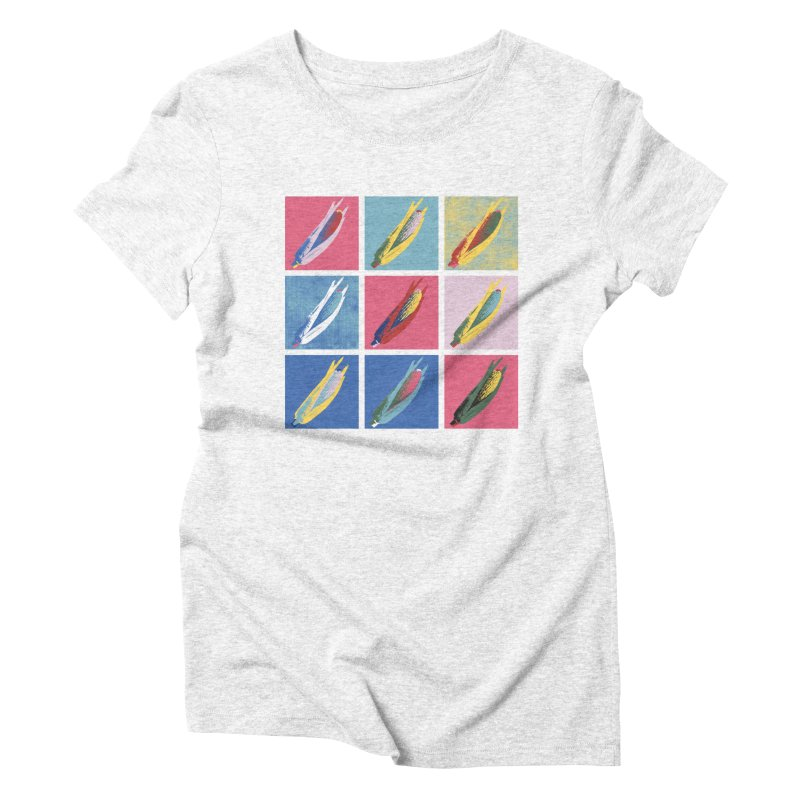 A Pop Corn Women's Triblend T-shirt by marcelocamacho's Artist Shop