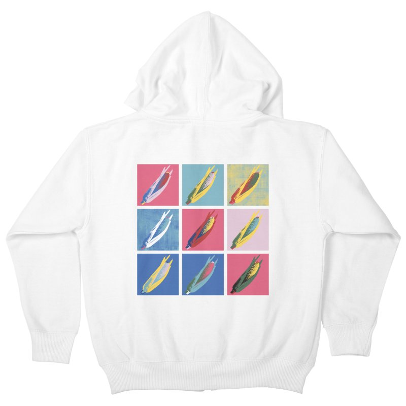 A Pop Corn Kids Zip-Up Hoody by marcelocamacho's Artist Shop
