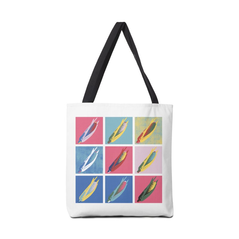 A Pop Corn Accessories Tote Bag Bag by marcelocamacho's Artist Shop