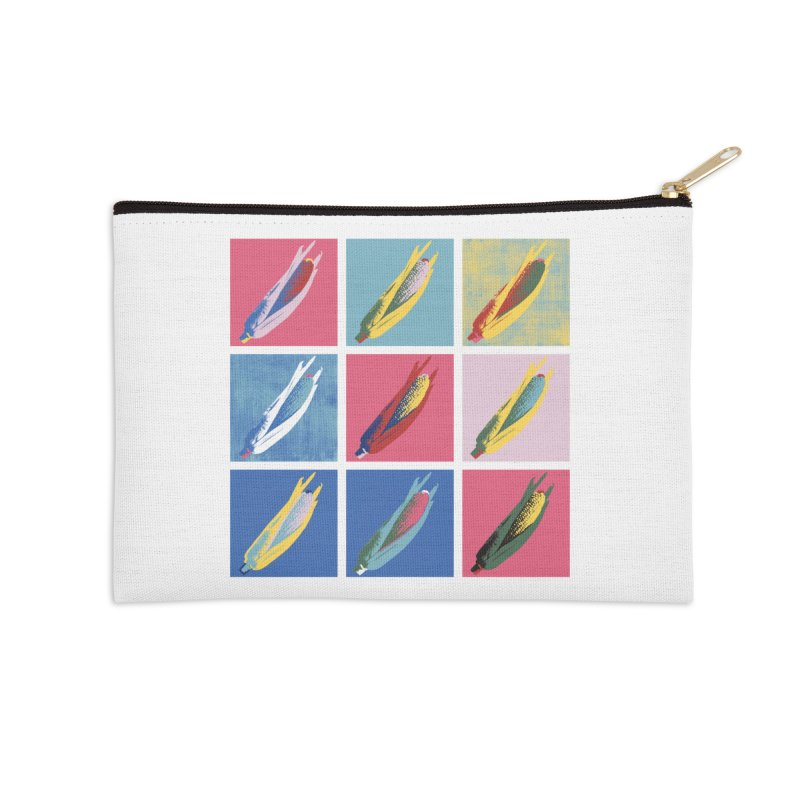 A Pop Corn Accessories Zip Pouch by marcelocamacho's Artist Shop