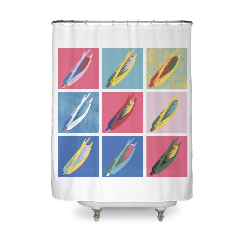 A Pop Corn Home Shower Curtain by marcelocamacho's Artist Shop