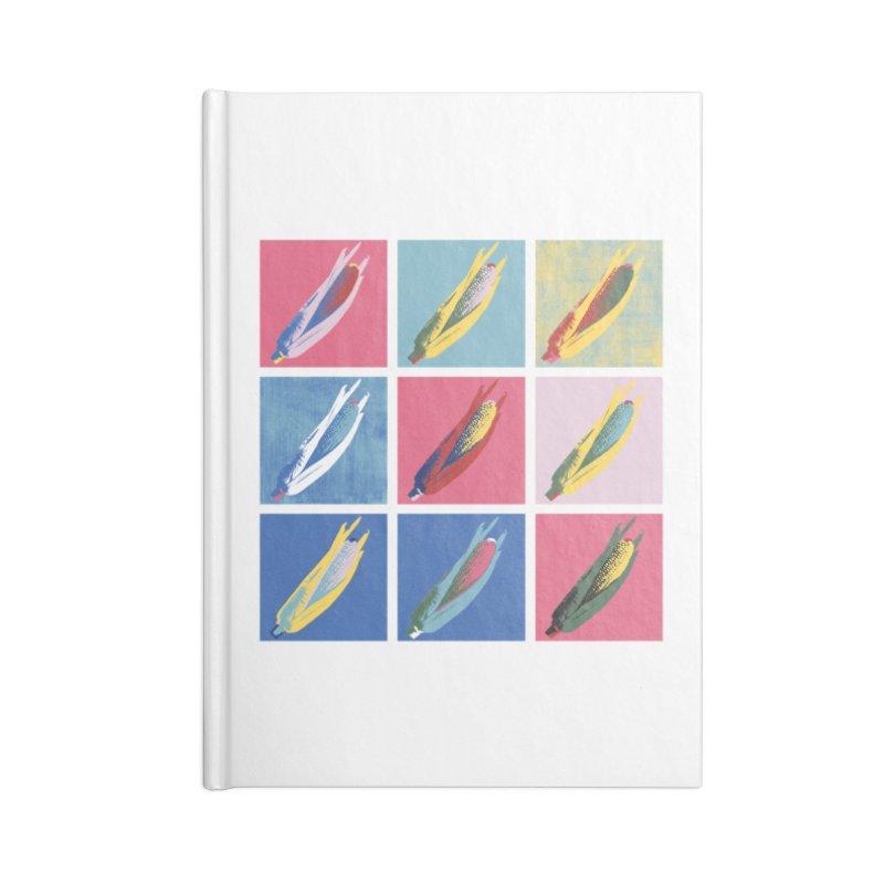 A Pop Corn Accessories Blank Journal Notebook by marcelocamacho's Artist Shop