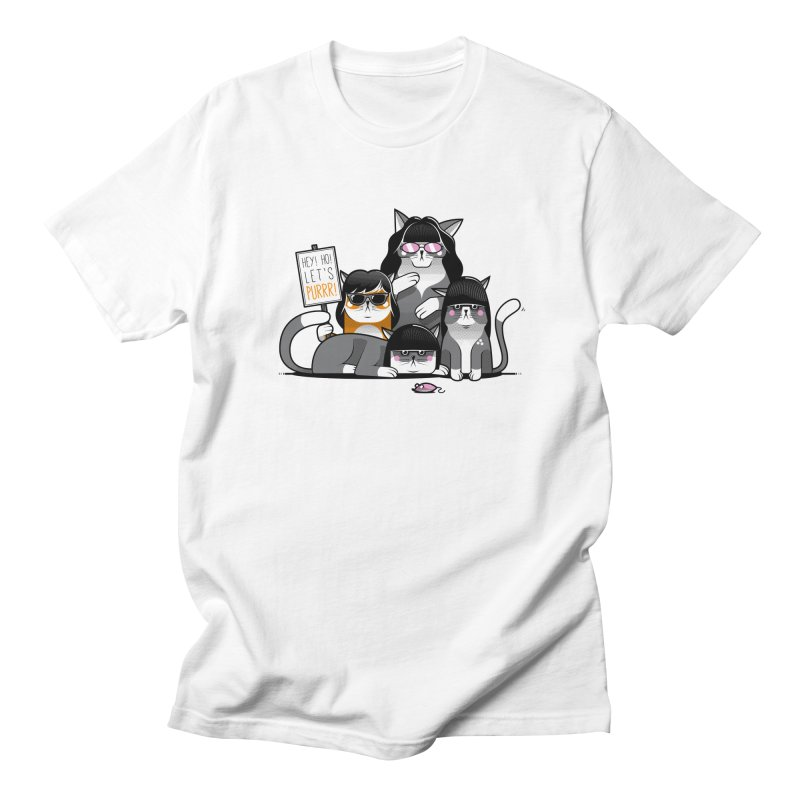 Let's Purrr Women's Unisex T-Shirt by marcelocamacho's Artist Shop