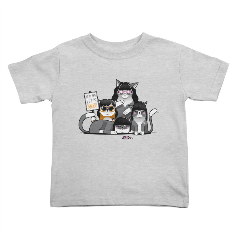 Let's Purrr Kids Toddler T-Shirt by marcelocamacho's Artist Shop