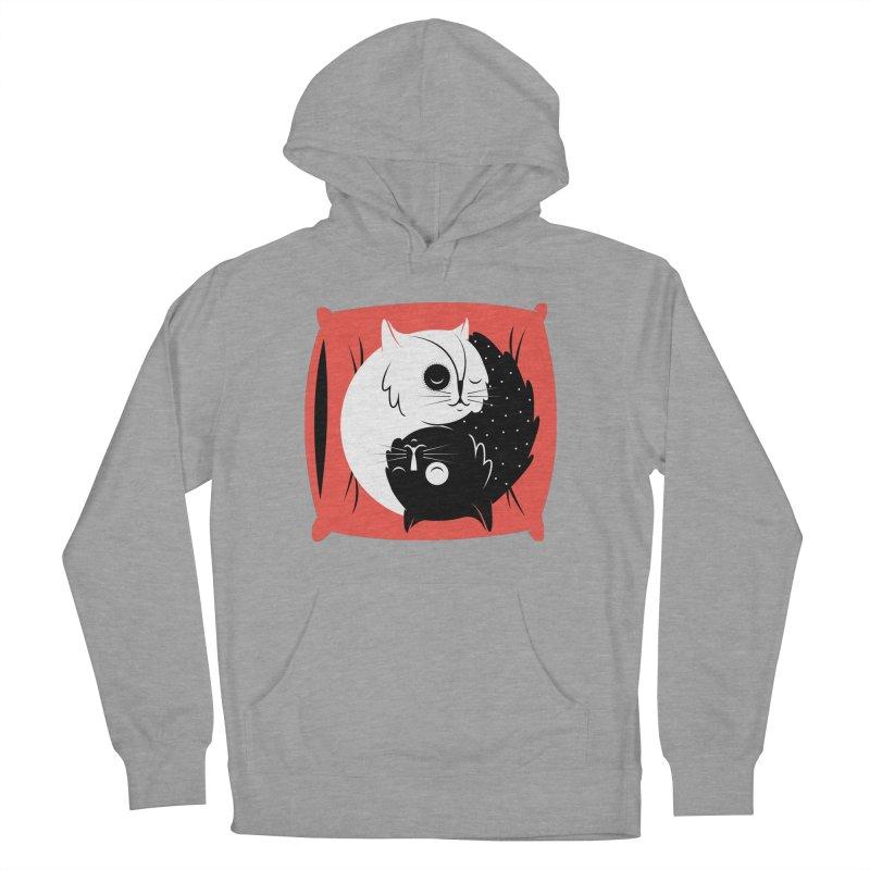 Zen cats Men's Pullover Hoody by marcelocamacho's Artist Shop
