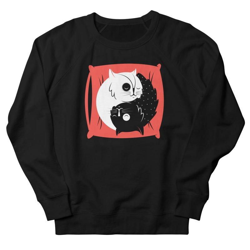 Zen cats Men's Sweatshirt by marcelocamacho's Artist Shop