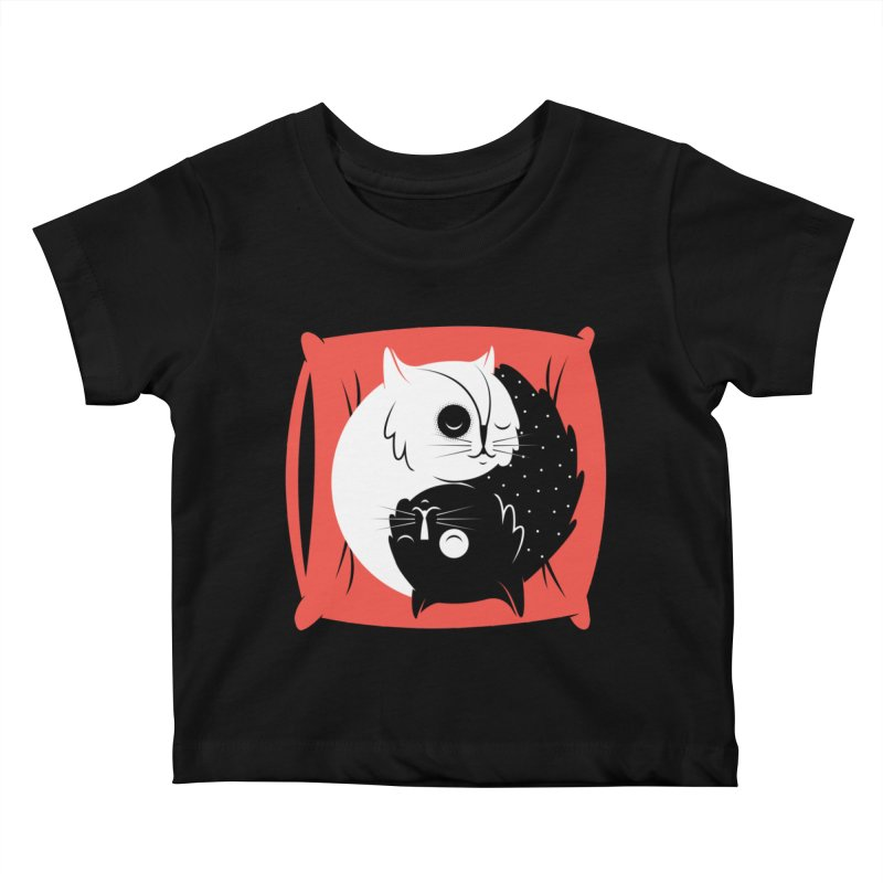 Zen cats Kids Baby T-Shirt by marcelocamacho's Artist Shop