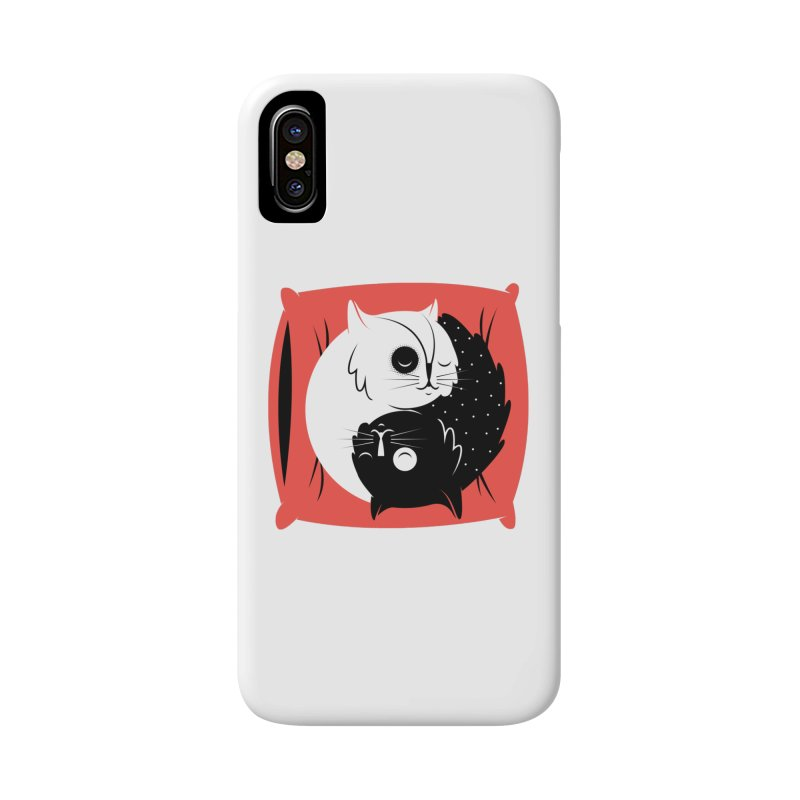 Zen cats Accessories Phone Case by marcelocamacho's Artist Shop