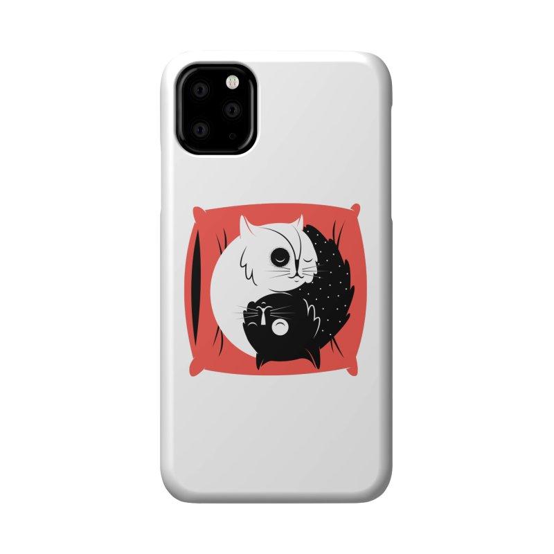 Zen cats Accessories Phone Case by marcelocamacho's Artist Shop
