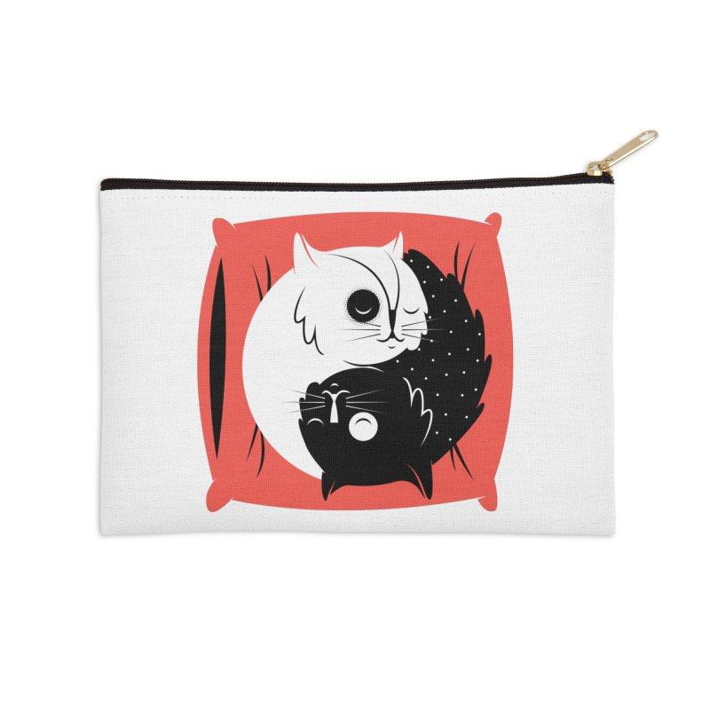 Zen cats Accessories Zip Pouch by marcelocamacho's Artist Shop