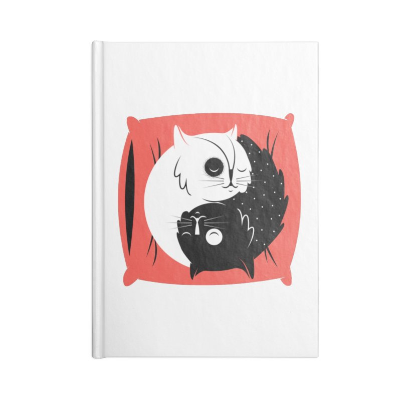 Zen cats Accessories Lined Journal Notebook by marcelocamacho's Artist Shop