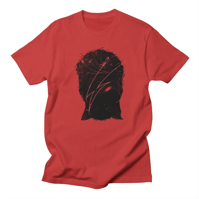 Starman Men's Regular T-Shirt by marcelocamacho's Artist Shop