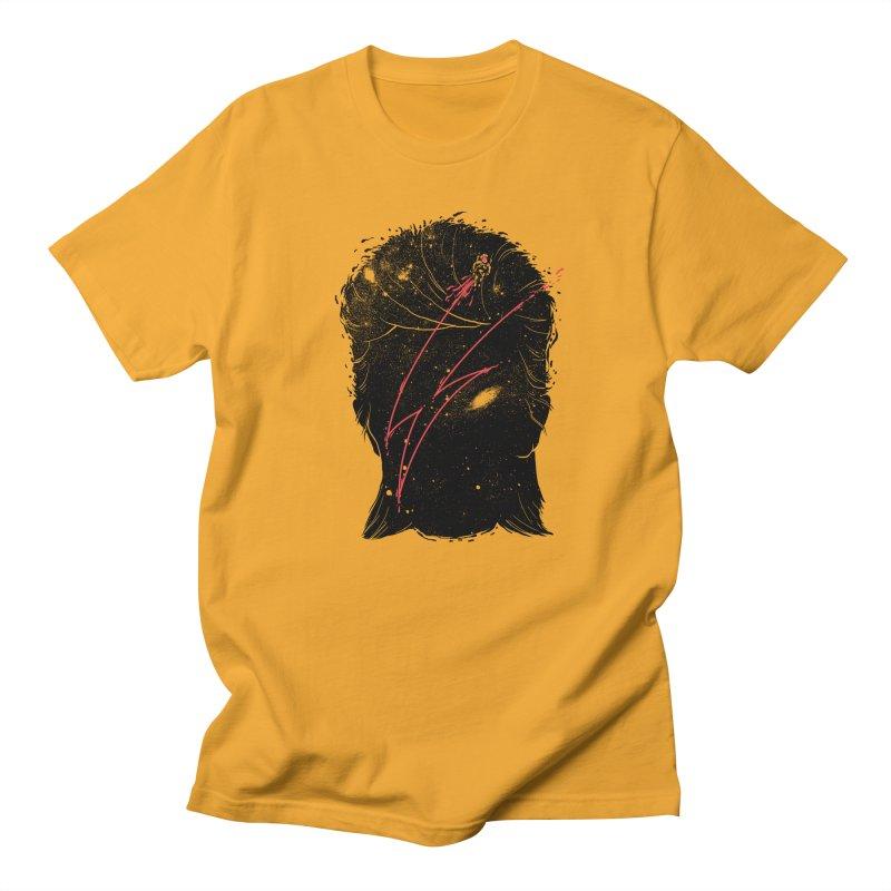 Starman Women's Regular Unisex T-Shirt by marcelocamacho's Artist Shop