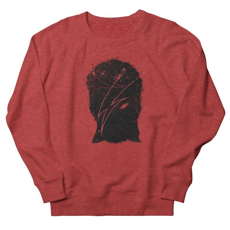 Starman Men's French Terry Sweatshirt by marcelocamacho's Artist Shop