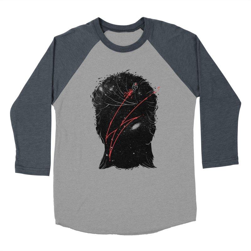Starman Women's Baseball Triblend Longsleeve T-Shirt by marcelocamacho's Artist Shop