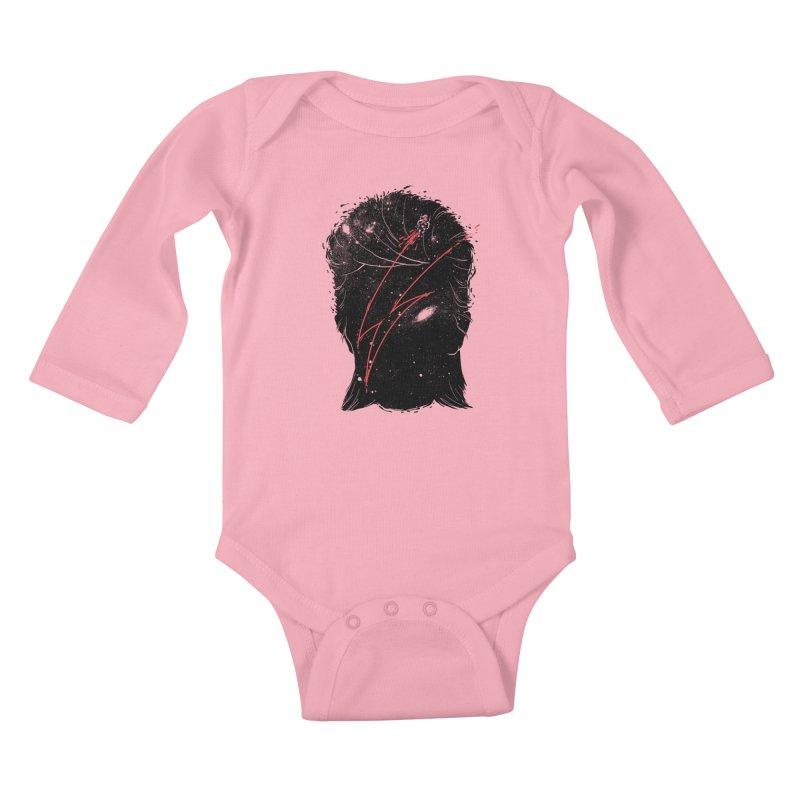 Starman Kids Baby Longsleeve Bodysuit by marcelocamacho's Artist Shop