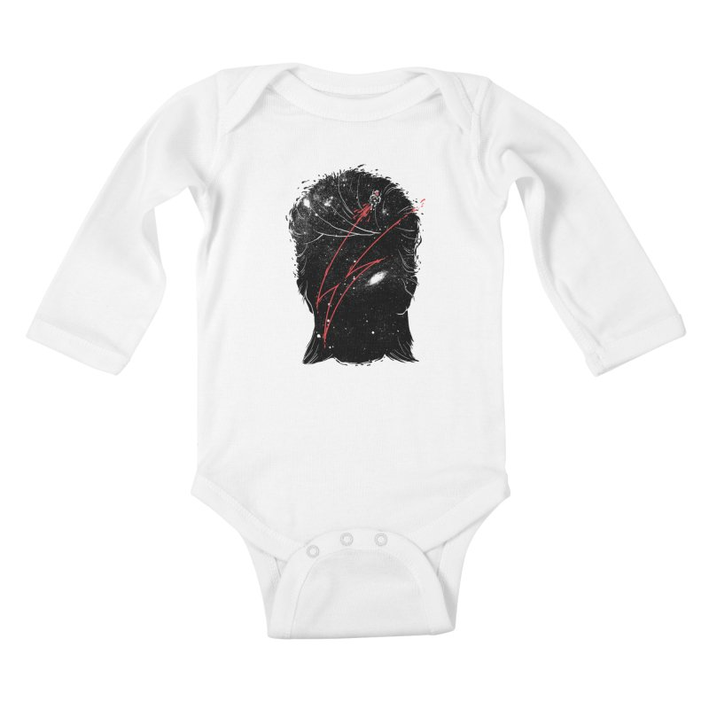 Starman Kids Baby Longsleeve Bodysuit by marcelocamacho's Artist Shop