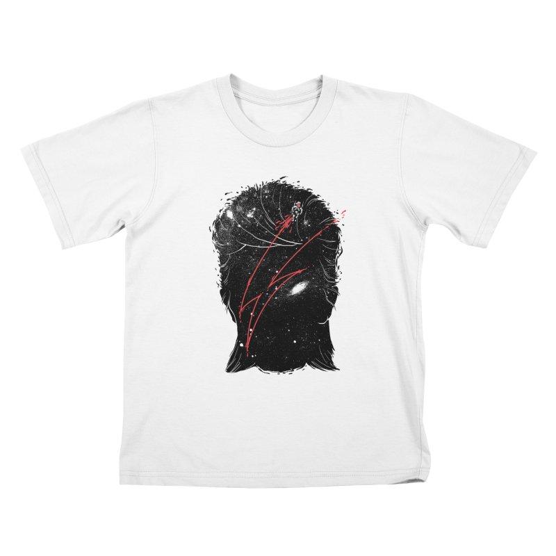 Starman Kids T-Shirt by marcelocamacho's Artist Shop