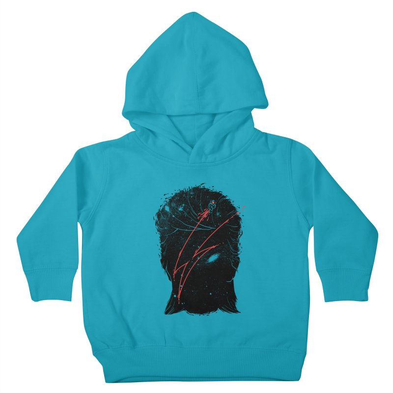 Starman Kids Toddler Pullover Hoody by marcelocamacho's Artist Shop