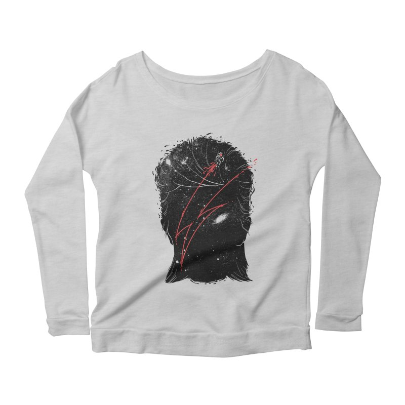 Starman Women's Scoop Neck Longsleeve T-Shirt by marcelocamacho's Artist Shop