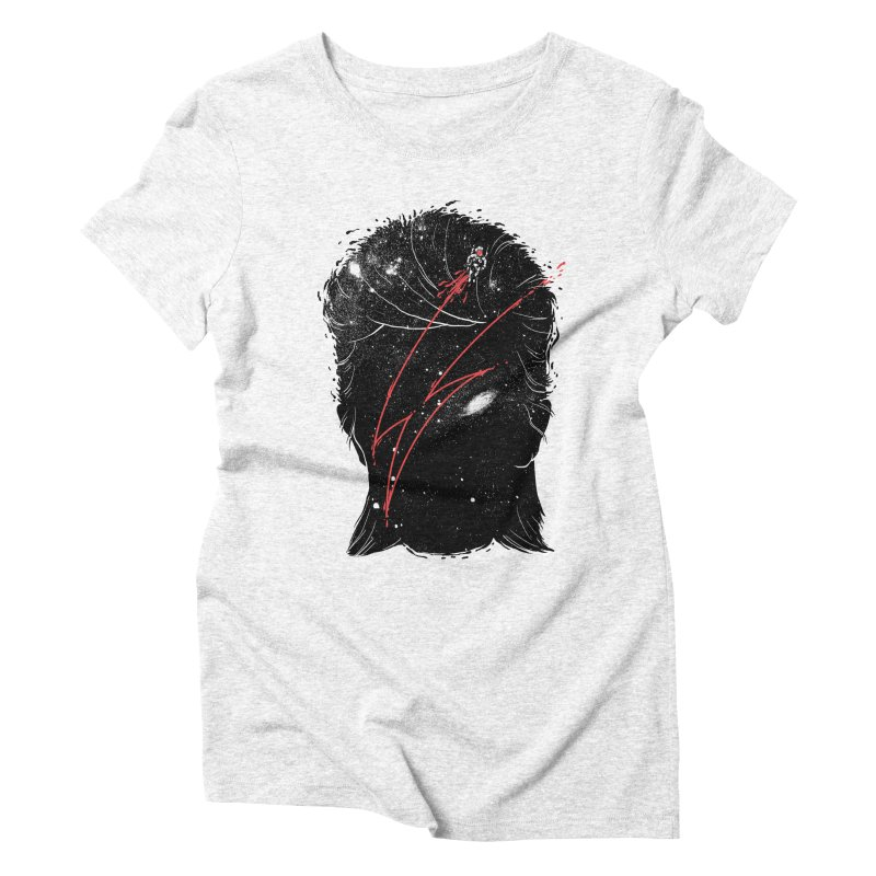 Starman Women's Triblend T-shirt by marcelocamacho's Artist Shop