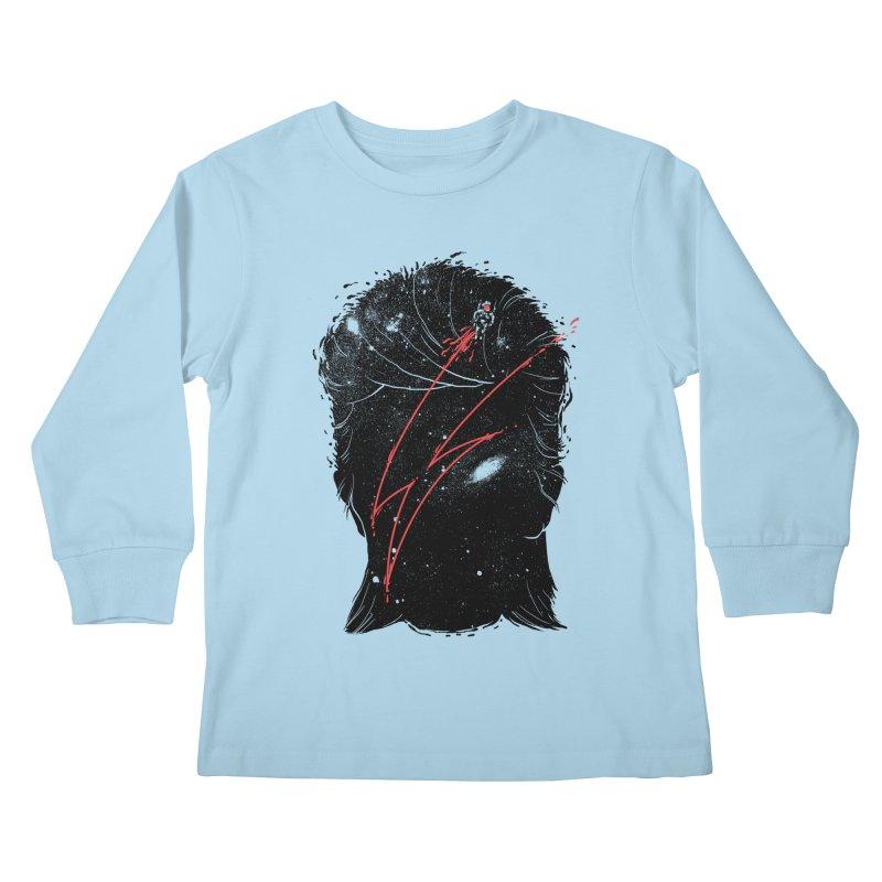 Starman Kids Longsleeve T-Shirt by marcelocamacho's Artist Shop